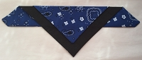 Navy blue bandana