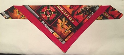 fire dept scarf